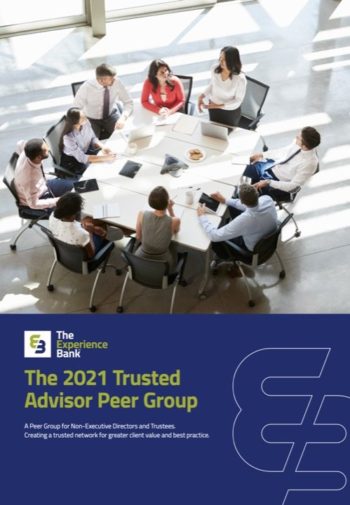 The 2021 Trusted Advisor Peer Group Brochure Cover